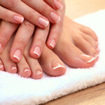 One Spa Manicure and Spa Pedicure with Paraffin Wax Treatment -60min